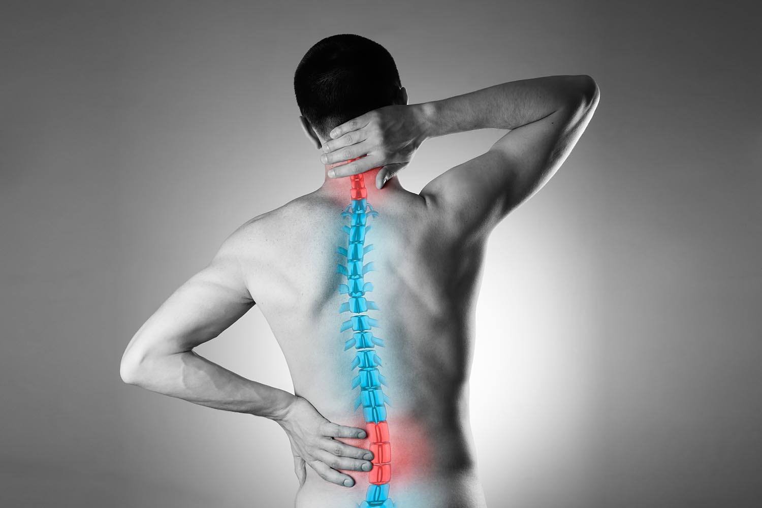 This is where low back pain usually shows up
